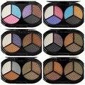 Cor sólida brilho paleta da sombra da sombra de olho paleta de sombra maquiagekm nude naked paleta profissional de beleza de alta qualidade