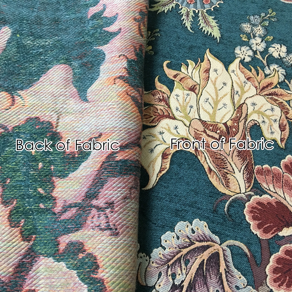 Aliexpress Buy Deluxe Dark Green Flower Thick Polyester