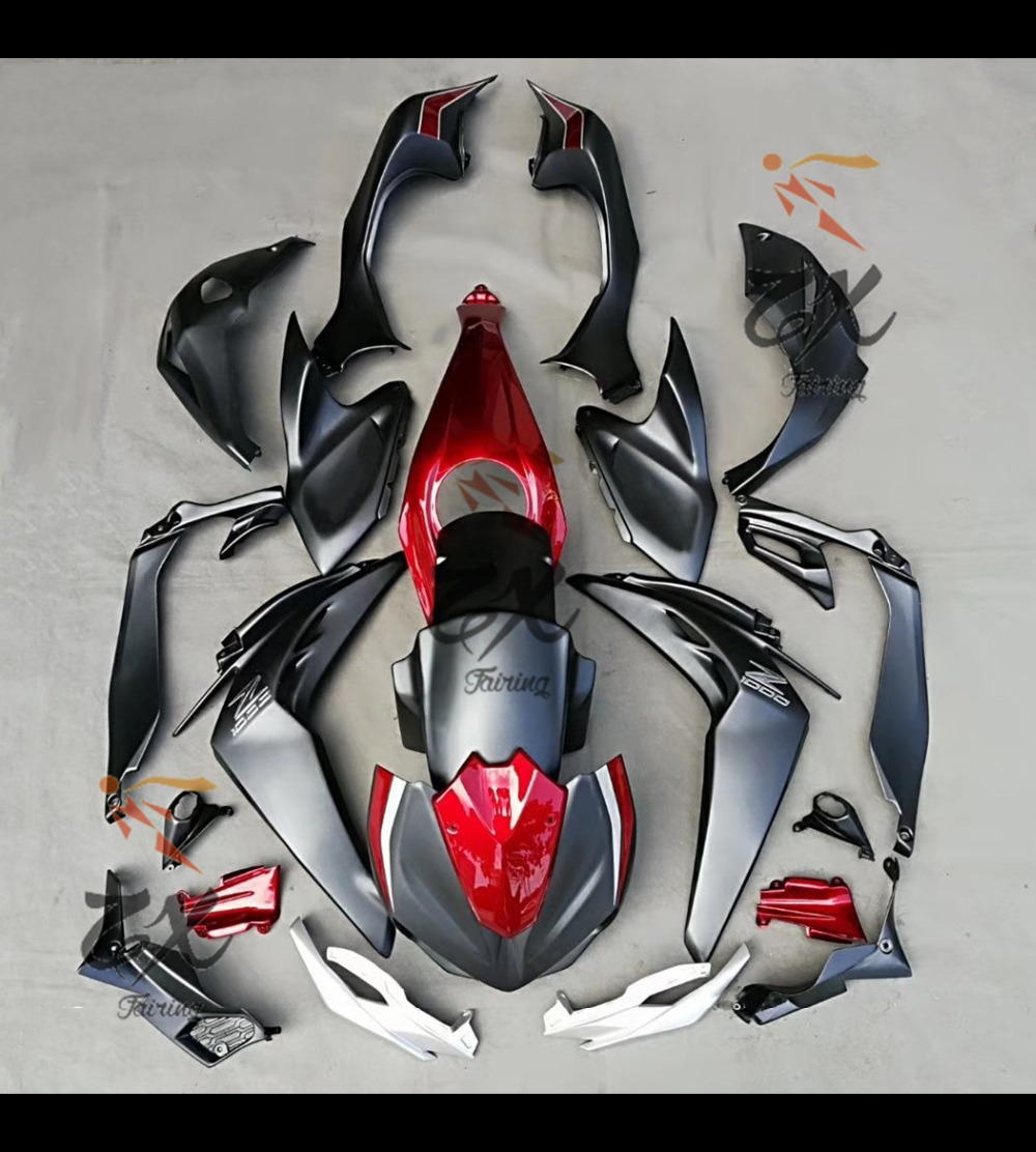 Fairing Kit For KWASWAKI Z1000 2014 2015 2016 ABS  Fairings Compression No Injection Black Sliver And Red