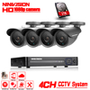 1080P HDMI 4Channel Security Camera System 4ch CCTV System DVR Kit 1080P Security Camera 2 0mp