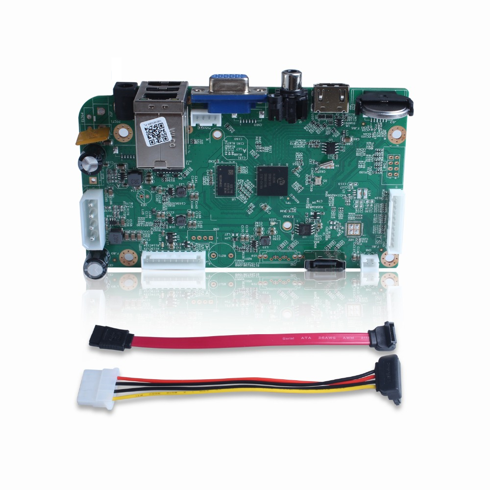 SUCAM 4CH5MP 8CH4MP H.265 Security Network Video Recorder Board Home Surveillance 4K NVR Support 4MP 5MP IP CCTV Cameras