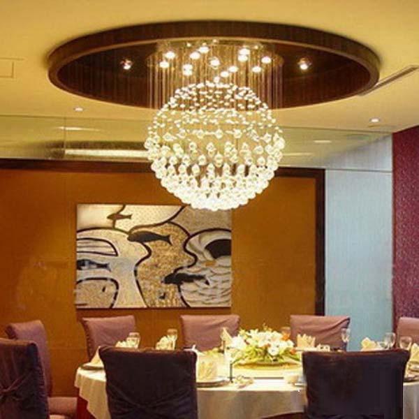 Led Ceiling Light Globe: Led Gu10 Crystal Stainless Steel Globe LED Lamp.LED Light