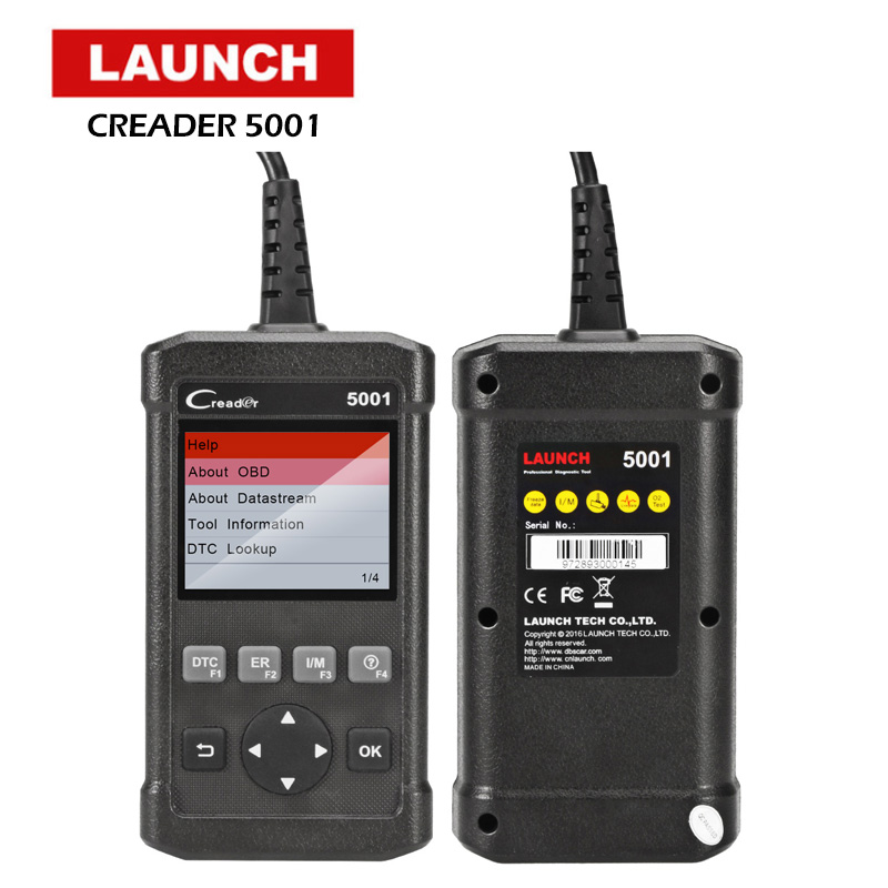 купить LAUNCH OBD2 Scanner Full OBD OBDII Engine Code Reader CR5001 Car Diagnostic Scan Tool Multi-language Automotive Scanner по цене 4075.77 рублей