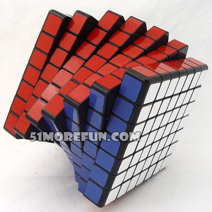 Shengshou 7x7 Cube Speed Magic Balck Stickerless Puzzle Cubo Magico For 7x7x7 Stickerless Puzzle Education Toy Children