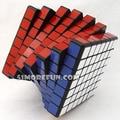 Shengshou 7x7x7 Magic Cube Enigma Preto E Branco E Rosa Brinquedos de Aprendizagem & Educational Cubo magico