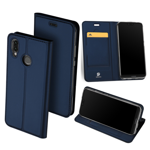 new style 14065 d99af US $9.05 15% OFF|Original DUX DUCIS Leather Case For Huawei P20 Lite Case  Cover Luxury Slim Flip Stand Wallet Case For Huawei P20/ P20 Pro Cover-in  ...