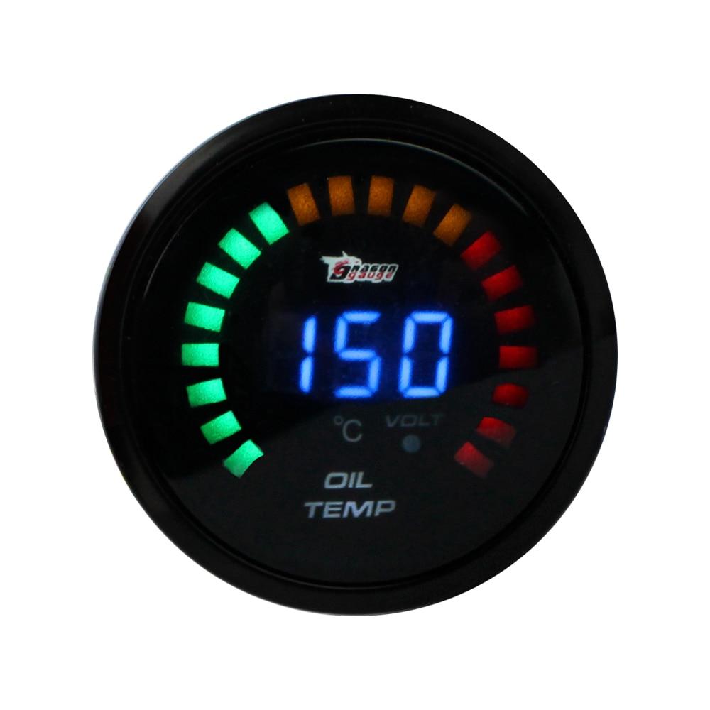 Universal Auto Gauges : Universal quot mm car oil temperature gauge black shell