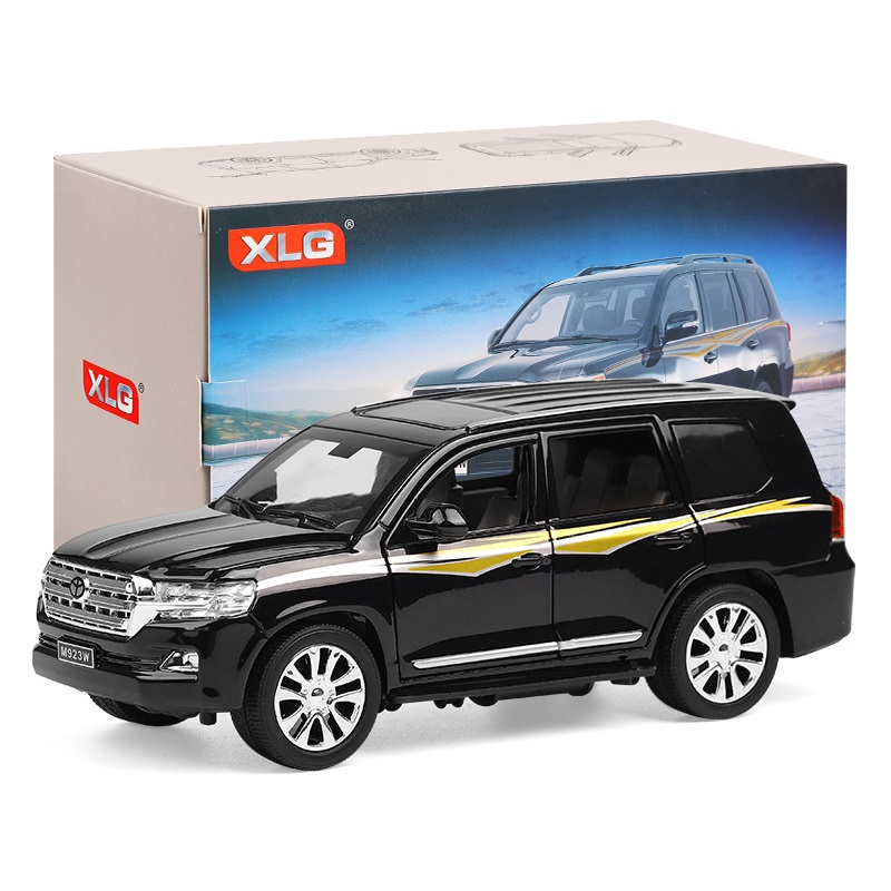 1:24 Alloy Car Big&High Quality SUV Length 20CmKLZ (#M923W-6) W/6 Doors Open Excellent Quality For Collection Light/Sound Design