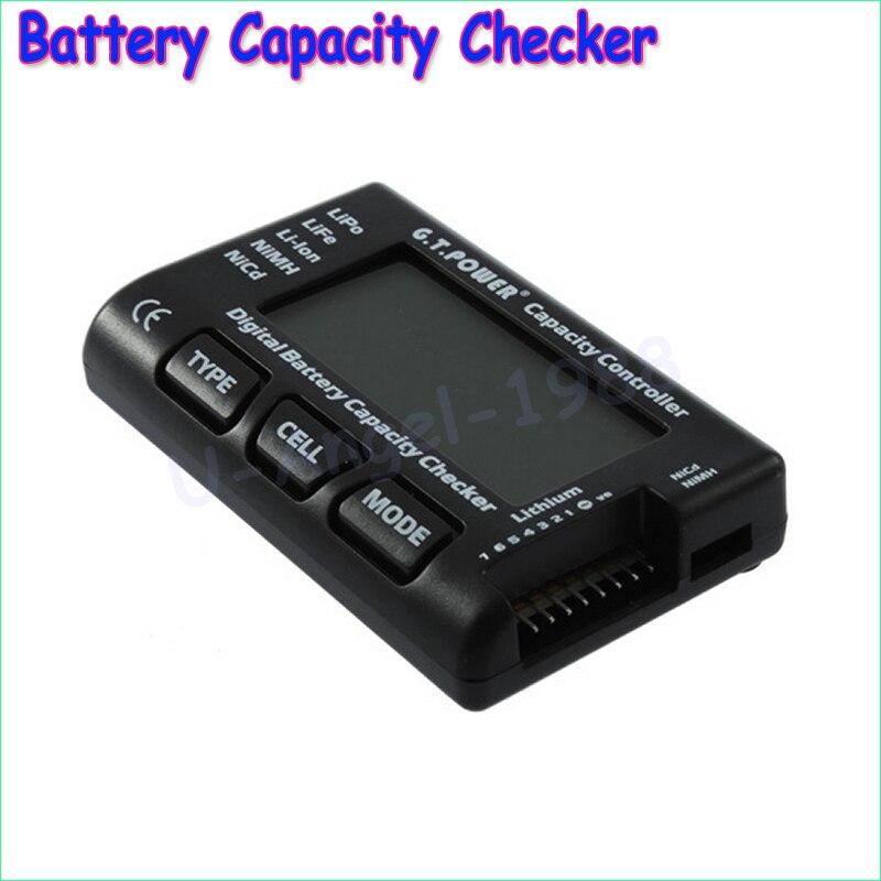 1pcs G.T.Power RC CellMeter-7 Digital Battery Capacity Checker For RC helicopter LiPo LiFe Li-ion Nicd NiMH