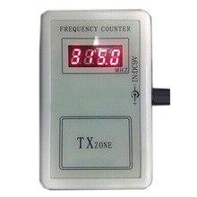 Ручной Частотный тестер, измеритель частоты, Цифровой частотный Измеритель для гаражных дверей, затвора, дверей, пульт дистанционного управления TXzone