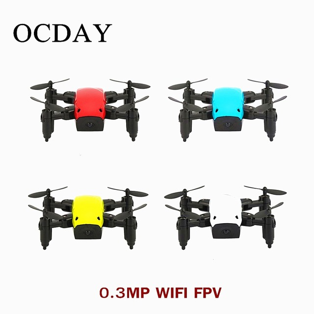 S9 S9HW 2.4GHZ Mini camera Drone Foldable 720P HD RC Quadcopter Altitude Hold Helicopter WiFi FPV Micro Pocket Drone Aircraft