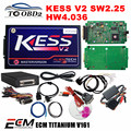 KESS V2 OBD2 Gerente Sintonia HW4.036 SW2.30 Kits Sem Tokens Limitada funciona Carros Adicionar a Função de OBD KESS V2 2.30 K-Suíte FRETE GRÁTIS
