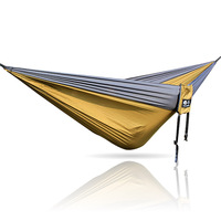 Grau Khaki Grau 300*200cm Camping Hängematte Im Freien Möbel