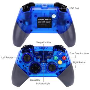 Image 4 - בקר אלחוטי עבור Nintendo מתג Windows PC Bluetooth Gamepad משחק ג ויסטיק פרו מובנה ג יירו כפול הלם Dropship