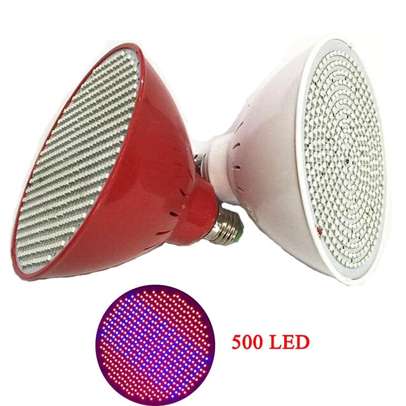 500 Led Grow Light крушка за цветя растение - Професионално осветление - Снимка 2