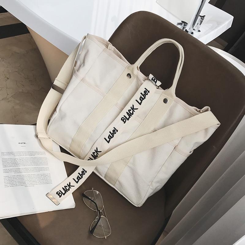 Canvas Tote Environmental Protection Mom Shopping Bag Handbags Tote Bag Casual Shoulder Bags Bolsa