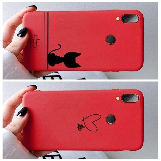 Etui motif vin rouge pour Xiaomi Redmi Note 7 6 5 8 Pro Mi9 SE Mi 8 A3 A2 Lite Mi9T Pro CC9 housse souple en TPU Redmi K20 Pro 7 7A 6A