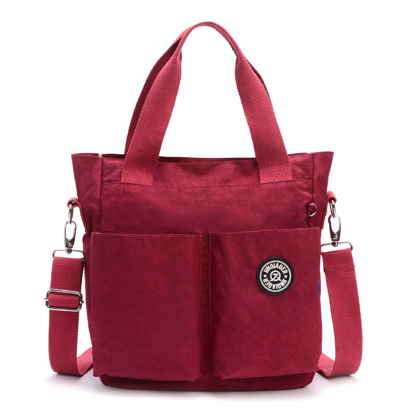 Women Nylon Waterproof Shoulder Bag luxury handbags women Messenger Bags designer Multifunction Zipper Travelbag 1