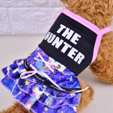 2017 Fashion Pet Clothes For Small Dogs Cute Pet Dog Dress Soft Puppy Dog Cat Clothing Casual Coats Sizes XXS-L For Chihuahua
