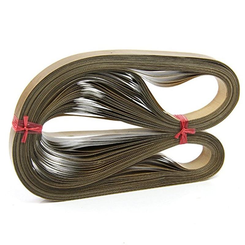 50pcs/lot 750*15*0.2mm High Temper PTFE Teflons Belt For FR900 Sealing Machine Bands Film Bag Sealer Strip
