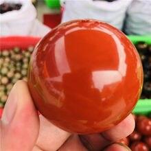 40-80mm natural red jasper cristal de quartzo esfera bola cura