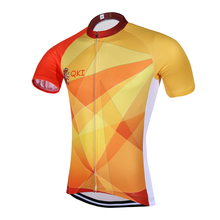 2017 QKI Spain National Short Sleeves Cycling Jersey Cycling Shirt  Maillot Cycling Clothing Wear Ropa Ciclismo