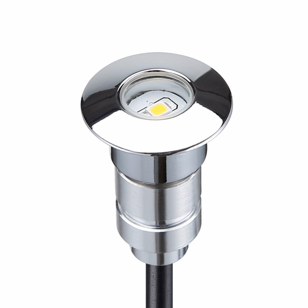 10pcs Deck Light Garden Mall Step Stair Landscape Led Lights Low Voltage Ip67 Lamp Transformer