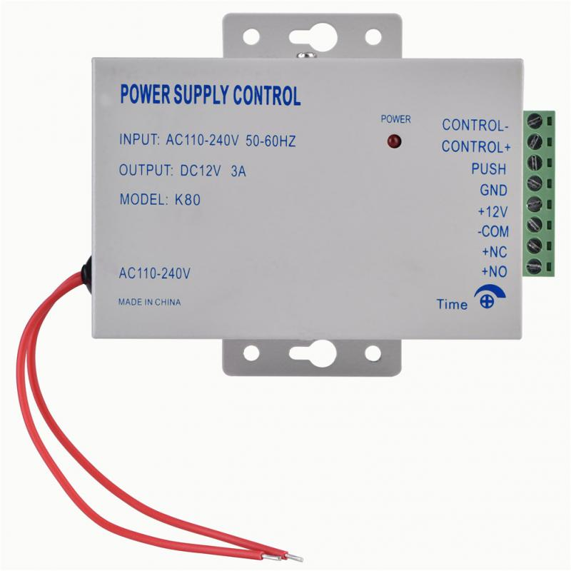 Image 3 - Input AC 110V 240V Output DC 12V 3A 30W Power Supply Controller for Door Access Control System Tools-in Switching Power Supply from Home Improvement