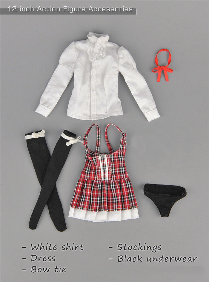 """1//6 ZYTOYS ZY5021 Girl Costume Clotheing Set F 12/"""" PHICEN Big Bust Figure Body"""