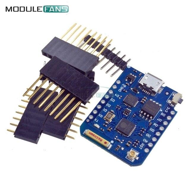 WeMos D1 Mini ESP8266 WIFI Module Board Pro 16M Bytes External Antenna Contor ESP8266 WIFI IOT Development Board