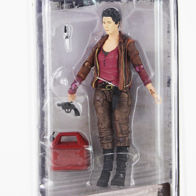 12cm AMC Series NECA The Walking Dead Carol Peletier PVC Action Figure with New accessoriews Toy подвесная люстра 411011605 chiaro