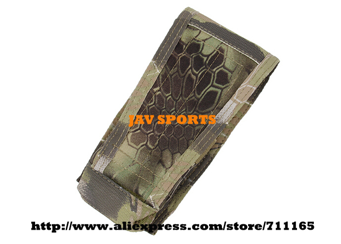 TMC Single M4 Magazine Pouch Vertical Pouch MOLLE Pouch In Kryptek Mandrake+Free shipping(SKU12050581)