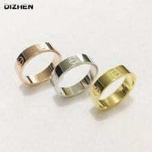Fashion Silver Finger Ring Crystal Ring for Women Men Wedding Rings Lover Gift Hot Wholesale Price