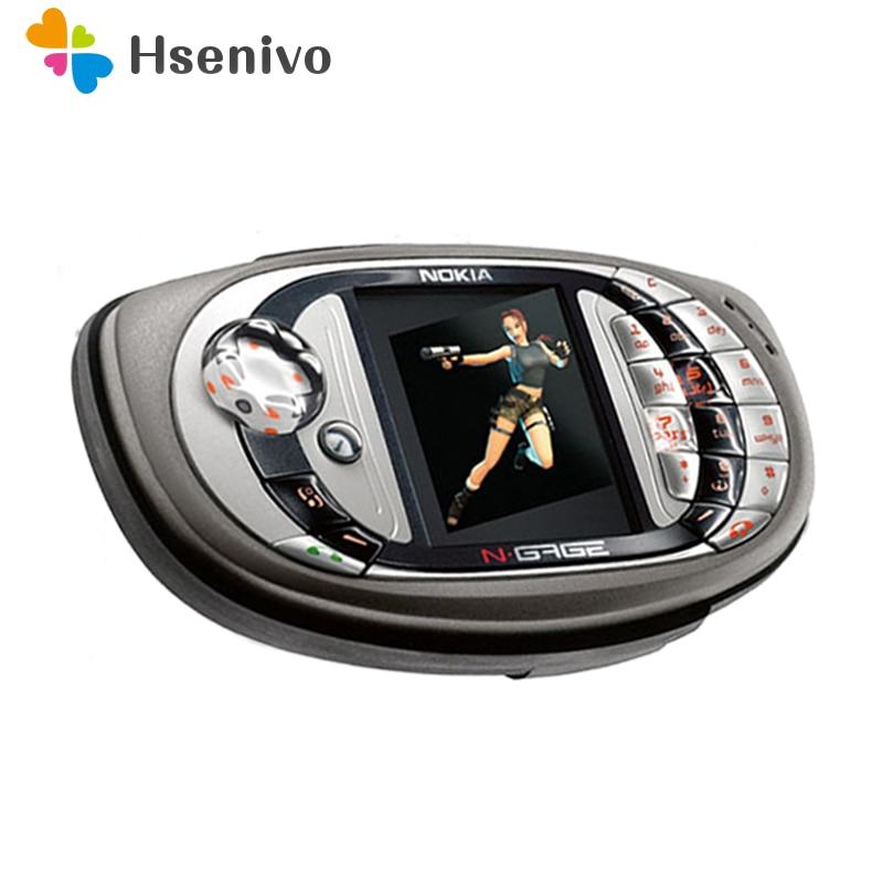 Original débloqué Nokia n-gage QD jeu téléphone portable bluetooth multilingue remis à neuf
