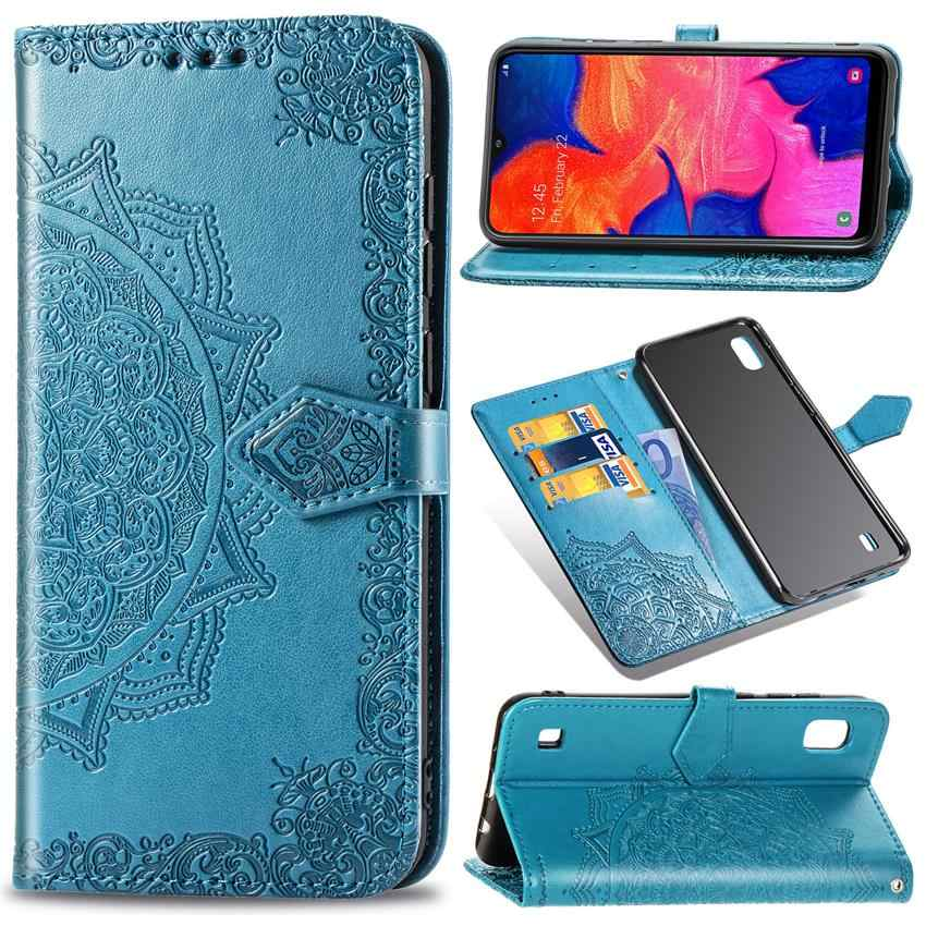 For Samsung Galaxy a10 A30 A40 A50 A70 Case Leather Phone Case Full Cover Screen Protector For Galaxy a10 A 30 A40 A 50 A70 Film