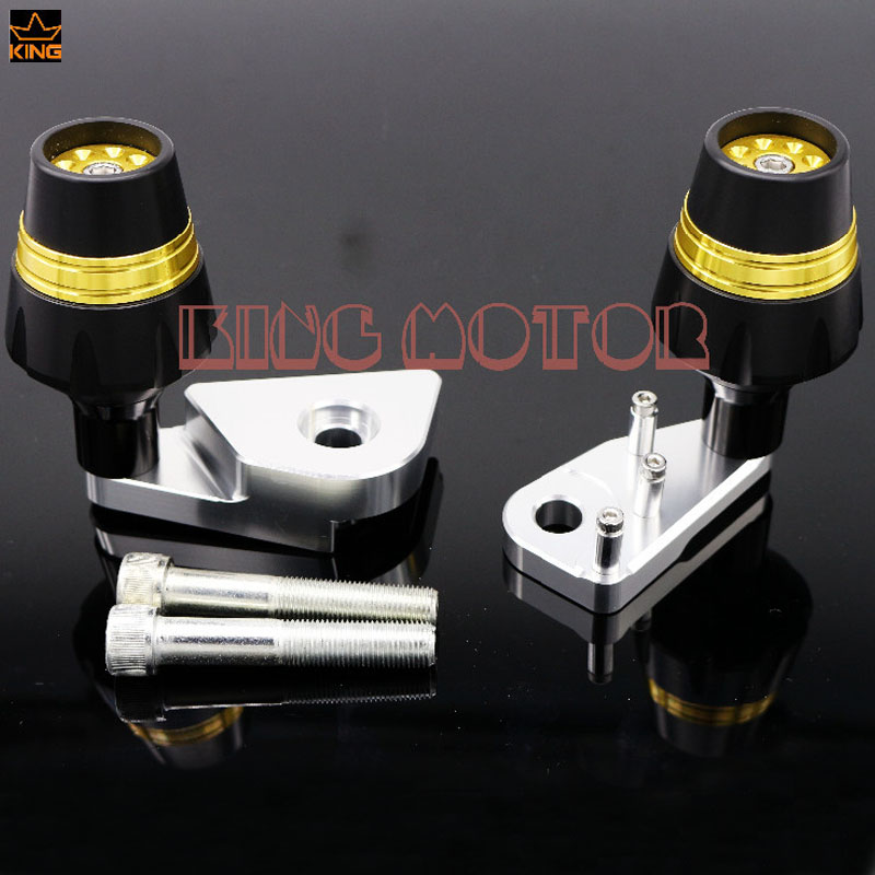 For HONDA CBR1000RR 2012-2014 Motorcycle Accessories Frame Sliders Crash Protector Falling Protection Gold arashi motorcycle radiator grille protective cover grill guard protector for 2008 2009 2010 2011 honda cbr1000rr cbr 1000 rr