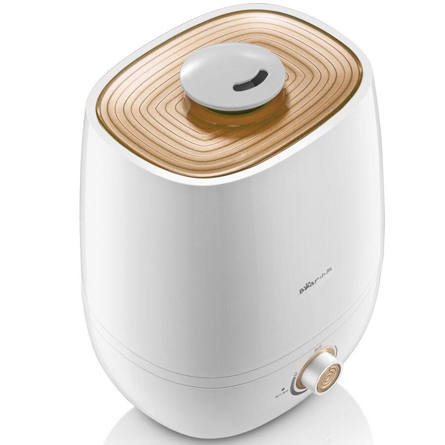 Hohe qualität 220 v elektrische luftbefeuchter 5l große tragbare luftbefeuchter ruhigen schlafzimmer büro duftenden box Silber ionen antibakterielle