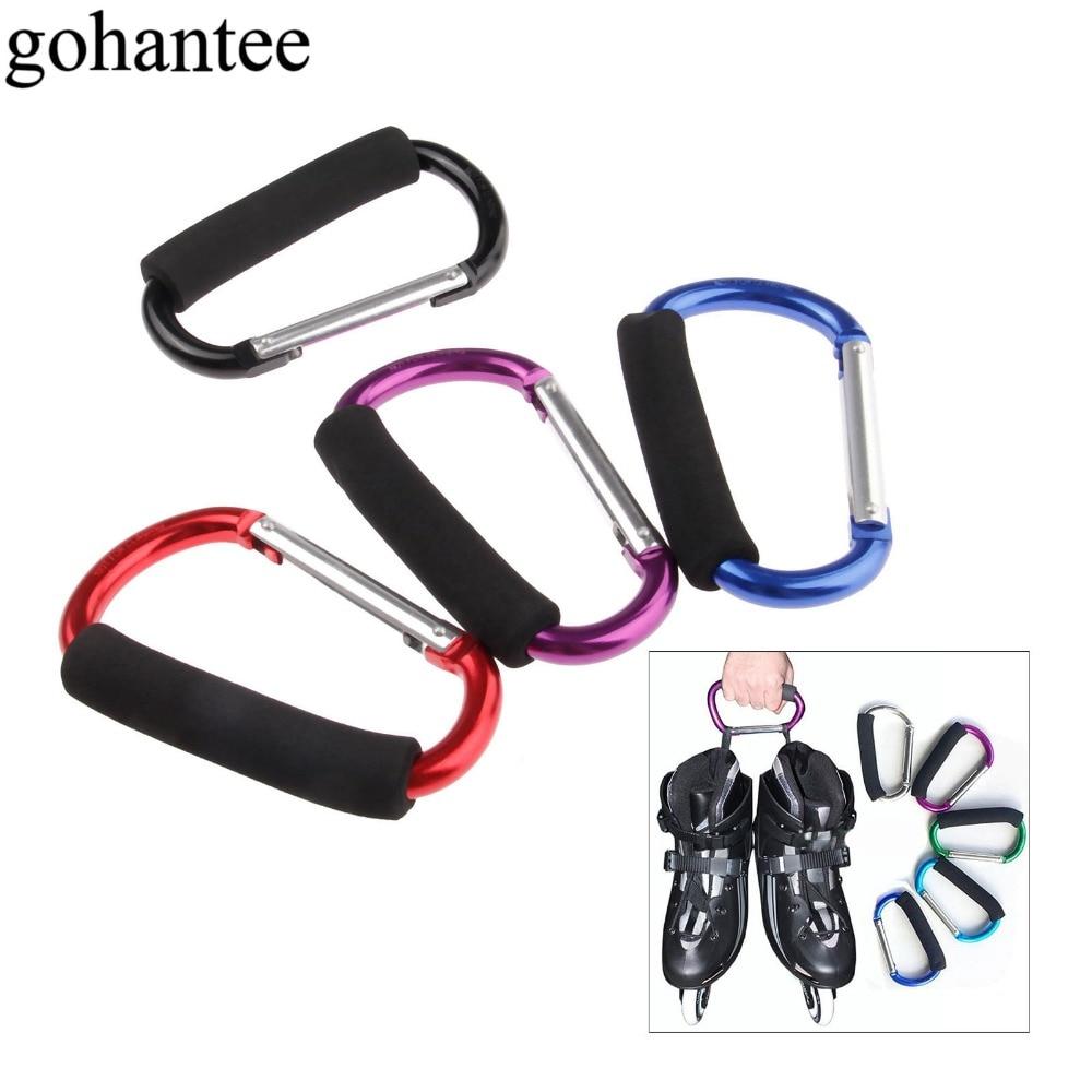 Multifunctional Roller Skates Shoes Handle Buckle Hook Hasps For Inline Slalom Skating Shoes Outdoor Backpack/Key Hanging Bucket