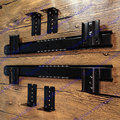 1 Pair  Computer desk keyboard tray track drawer slide rail crane rail slideway keyboard bracket guide