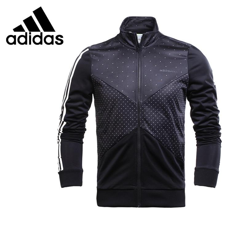 Original New Arrival Adidas NEO Label Men's Dot Jacket Mandarin Collar Sportswear