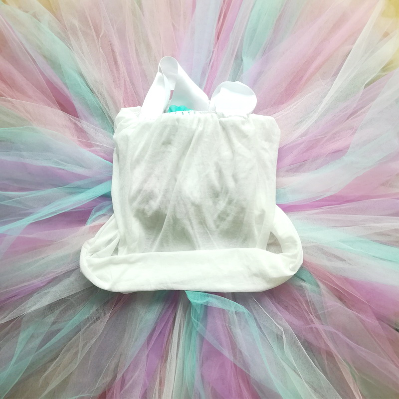 2019 Girl Unicorn Dresses With Wings Headband For Girls Tutu Princess Party Dresses Flower Birthday Cosplay Halloween Costume in Girls Costumes from Novelty Special Use