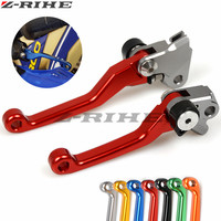 CNC Pivot Foldable Clutch Brake Lever For SUZUKI RMZ250 2004 RMZ250 2007 16 RMZ450 2005 16 upermoto Dirt Bike Off Road Motocros