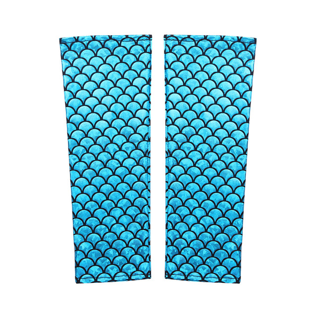 YiZYiF Mermaid Arm Sleeves...