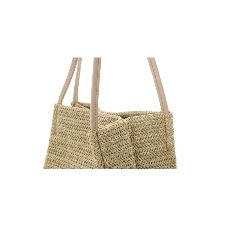 2018 Casual Summer Women Straw Bags Rattan Woven Beach Tote Handbag  Crossbody Shoulder Bag Ladies Female Bohemian Handmade Bolsa-in Shoulder  Bags from ... c8a1abfd01