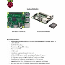 Original element14 Raspberry Pi 3 Model B