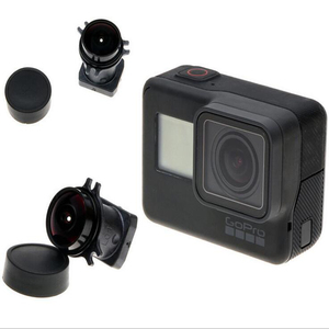 Image 2 - JINSERTA Gopro 6/5 Lens 170 graden groothoek lens Vervanging Camera voor Gopro Hero 6/5 Black Go Pro action camera