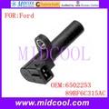 Новый Датчик положения коленчатого вала Используйте OE No. 6502253  89BF6C315AC для Ford
