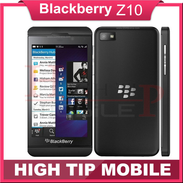 "Unlocked Original Blackberry Z10  Dual-core GPS Wi-Fi 8.0MP 4.2""TouchScreen 2G RAM +16G ROM Refurbished Phone Free Shipping"