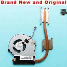 Novo radiador original para toshiba satellite L50-B L55-B L50D-B L55T-B cpu ventilador de refrigeração do dissipador calor refrigerador BLX-IMR nfb80a05h fsfa11m