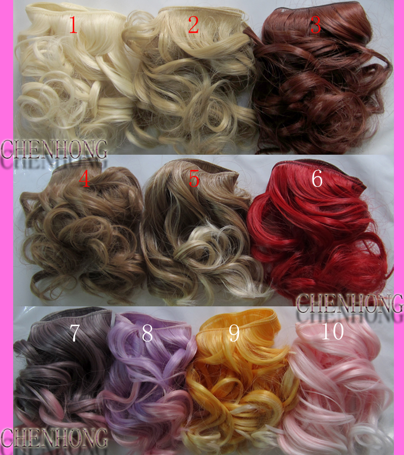 1pcs 15cm*100CM doll wigs Big wave for 1/3 1/4 BJD SD DIY doll hair uncle 1 3 1 4 1 6 doll accessories for bjd sd bjd eyelashes for doll 1 pair tx 03